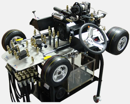 Articulated Steering Hydrostatic Transmission Simulators Hydraulic Training Simulators Fluid Power Training Institute Fpti
